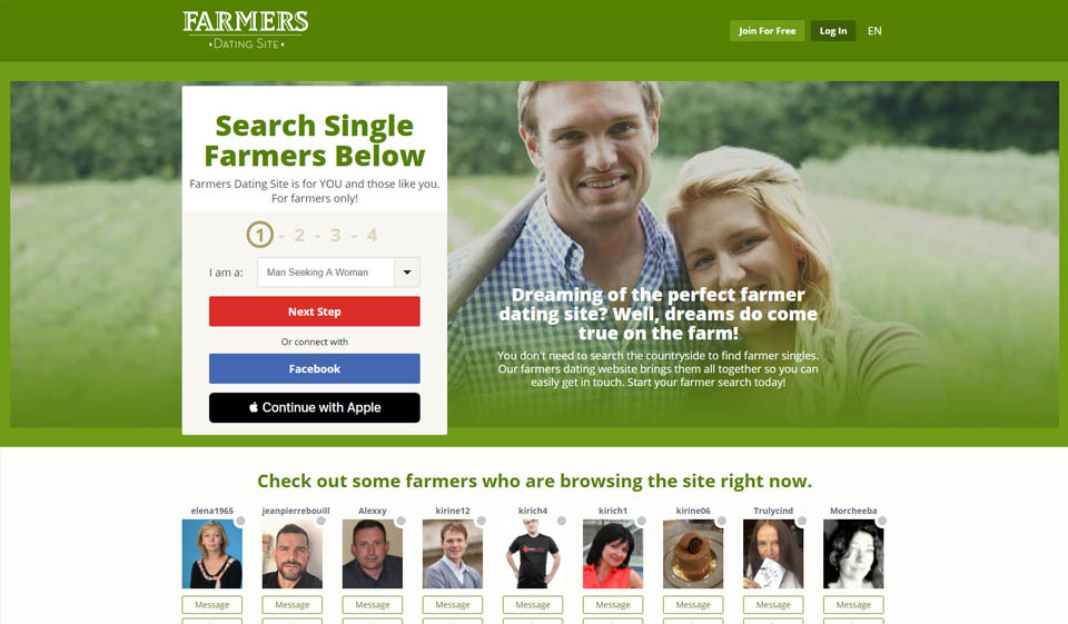 Farmers Dating Site Review